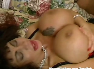 momswithboys;mom;mother;old;milf;mature;blowjob;cumshot;facial;bigtits;lingerie;stockings;big-boobs;retro;riding;cowgirl,Big Tits;Hardcore;Mature;Vintage MILF Brunette...