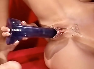 Anal,Double Penetration,Brunette,Vintage,Classic,Retro,Threesome,Toys,Hardcore,All Holes All Holes Stuffed