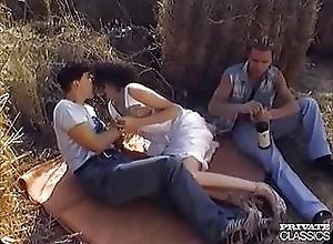 Cumshots;Hardcore;Double Penetration;Outdoor;Threesome;Outdoors;Private Classics Outdoors DP retro...