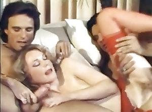 Group Sex;Vintage;Big Nipples Joanna Stevens,...