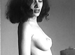 Brunettes;Latin;Skinny;Softcore;Vintage;Brunette Striptease BE-BOP BRUNETTE -...