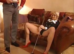 Double Penetration,Blond,Vintage,Classic,Retro,Threesome,Big Tits,Blowjob,Cumshot,vivian schmitt Vivian Schmitt