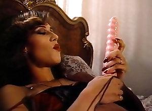 Lingerie;Masturbation;Vibrator;Vintage;Pleasuring Herself;Retro Lingerie;Satin;Pleasuring;Herself;Classic Retro Classic -...