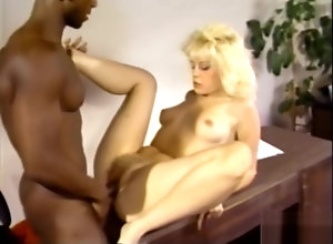 Interracial,Blond,Vintage,Classic,Retro,Blonde,Blonde,Goddess Amazing sex video...