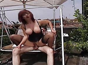 Anal;Cumshots;Italian;MILFs;Vintage;HD Videos;Rooftop Italian Milf On A...