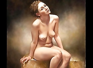 Vintage;Softcore;HD Videos;Nudity;Painting nudity in...