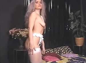 Threesome,Stockings,Small Tits,Sucking,Mike Collins,Larry Holmes Suck It Off