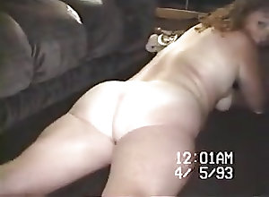Homemade;Striptease;Vintage;Wife;Wife Stripping;Old Wife;Stripping;Old Old VHS wife...