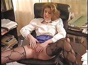 German;Matures;Vintage;In the Office;In Office;Banged;Office Lanky mature gets...