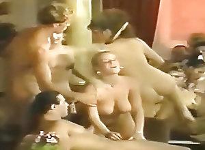 German;Group Sex;Orgy;Vintage Oriental Night