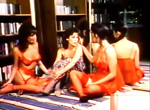 Lesbian,Brunette,Vintage,Classic,Retro,Threesome,Toys,Cunnilingus,Massage,Lesbian,Gina Martell Gina Martell...