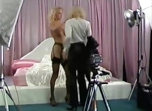 Stockings,Small Tits,Electric play,Long Dong Silver Electric Blue 3
