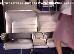 Lovers,Stewardess loving flight...