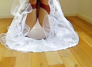 Stockings;British;Lingerie;HD Videos;Outdoor;Retro Retro Dress And...