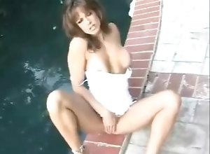 Masturbation,Brunette,Vintage,Classic,Retro,Solo Female Racquel Darrian...