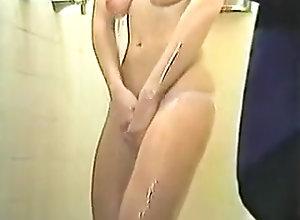 Blonde,Shower blond in shower
