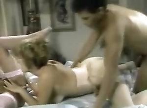 Blonde,Threesome,Pornstar,Vintage Taija Rae - Sex...