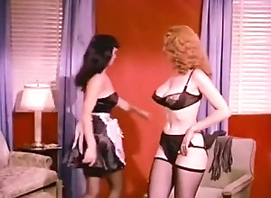 Lingerie,Stockings,Fighting,Vintage Vintage: Betty...