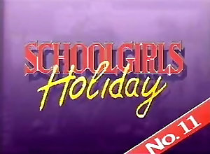 Vintage,Classic,Retro,School Uniform,Vacation Schoolgirls...