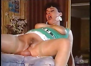 Vintage;Stockings;French;Big Natural Tits;Compilation Elodie Cherie Big...