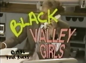 Ebony,Vintage,Classic,Retro black valley girls