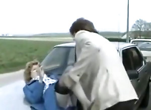 Vintage,Classic,Retro,Outdoor,Cumshot,Hardcore,Outdoor Accident video of...