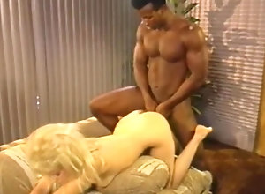 Interracial,Blond,Vintage,Classic,Retro,Hardcore,Retro Astonishing porn...