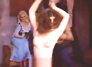 Vintage,Classic,Retro,Amateur,Dancing,Topless,Vintage Late Night...