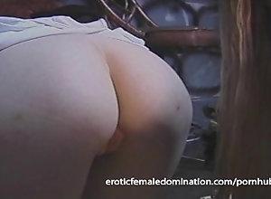 eroticfemaledomination;girl-on-girl;kink;bdsm;blonde;slave;dominatrix;ginger;hogtied;femdom;lezdom;dungeon;shaved-pussy;babe;humiliation,Bondage;Fetish;Lesbian;Vintage Perfect blonde...