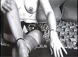 Brunettes;Vintage;Nylon;Striptease;Bottoms up Bottoms Up