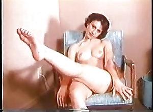 Hairy;Vintage;Softcore;Striptease;Retro;Tease Audry Vintage tease