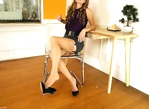 ageplaying;age-playing;double-dommes;domination;work-domination;mind-fuck;mental-domination;mesmerize;foot-domination;legs;foot-fetish;feet;foot-worship;pov-foot-worship;stocking-feet;nylon-feet;blonde,Lesbian;Feet;Verified Models,Star Nine;Stella Li Reduced by Nylons...