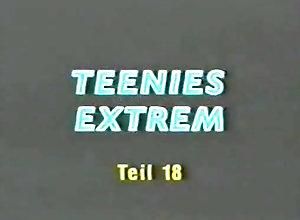 Threesome,Stockings,Cunnilingus,Small Tits,Teen (18/19),Uschi Karnat,Claudia Eckner Teenies Extrem 18